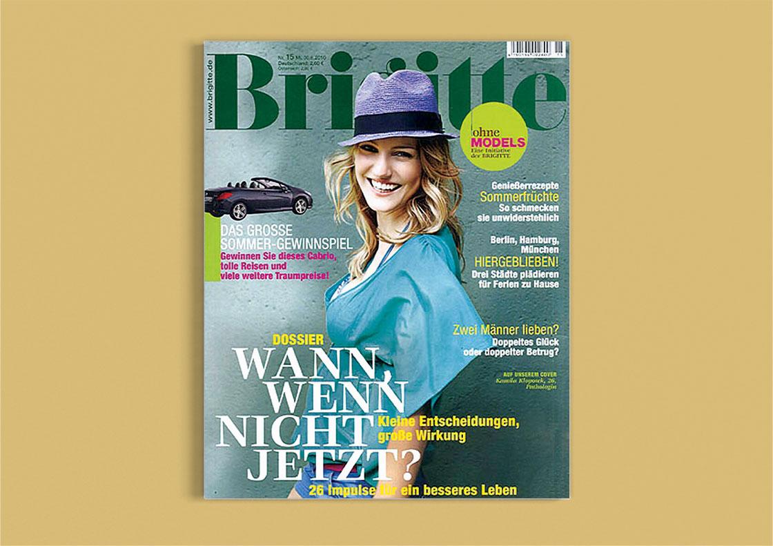 BRIGITTE Ausgabe 15/2010