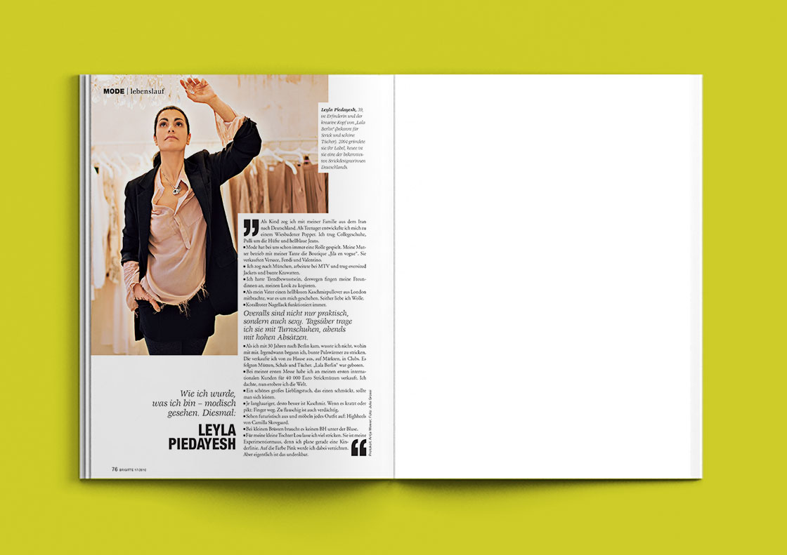 BRIGITTE Ausgabe 17/2010