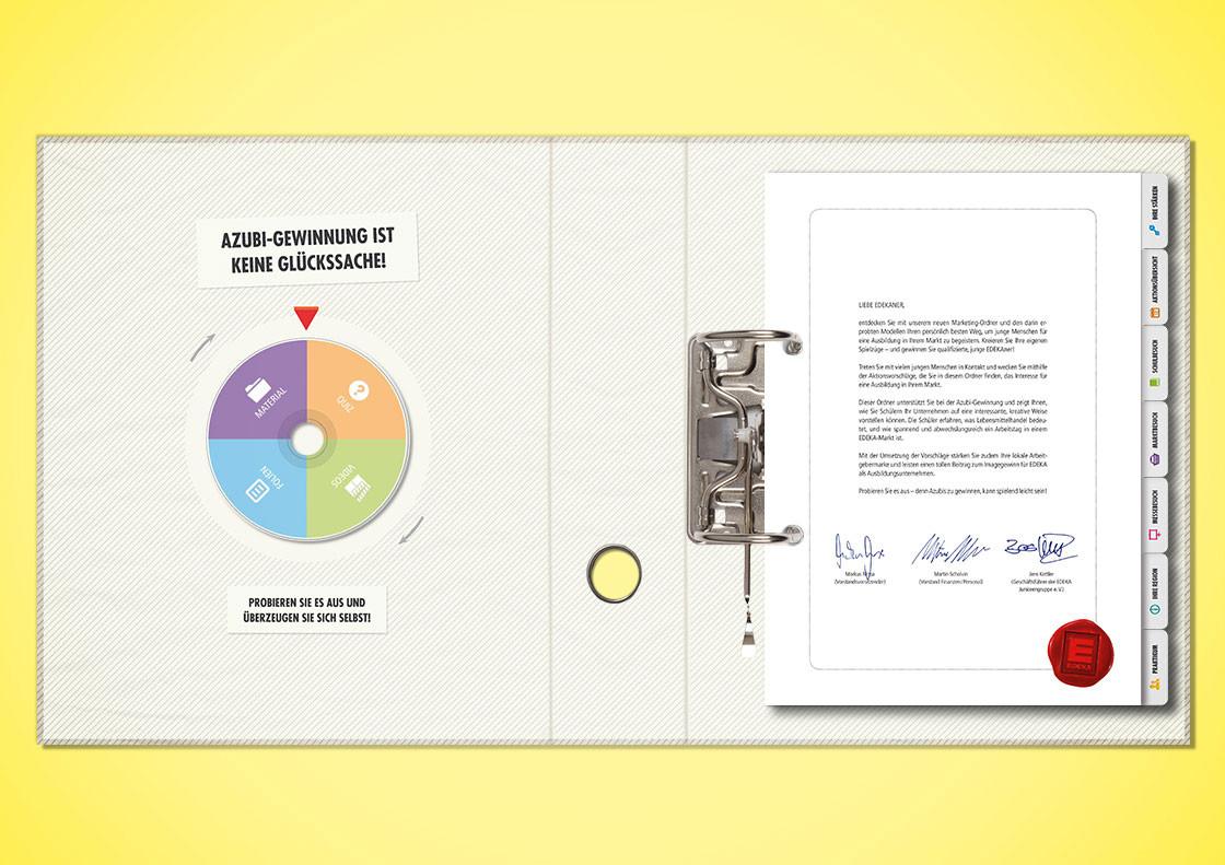 Marketingordner inklusive CD mit Zusatzmaterial