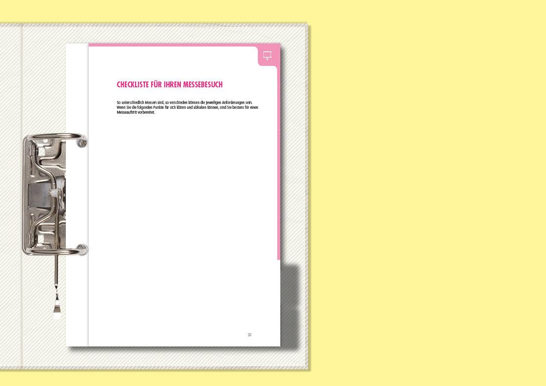 Checkliste für den Messebesuch (aufklappbar)