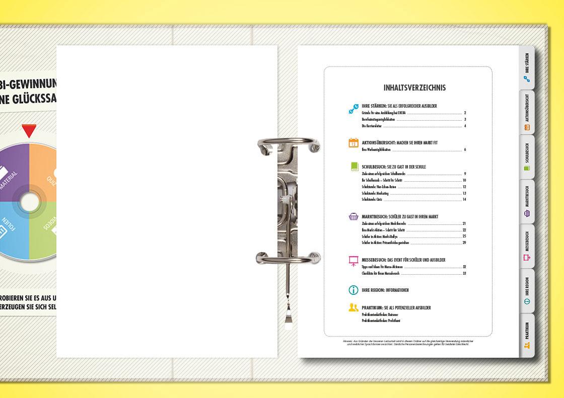 Marketingordner Inhaltsverzeichnis