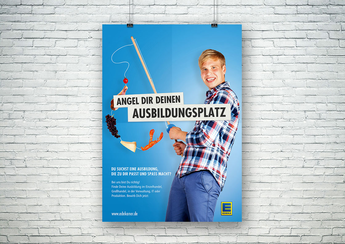 Plakat zum Aussbildungsplatz
